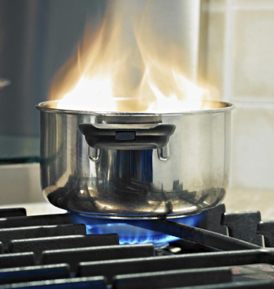 Tips for avoiding fire hazards around the house