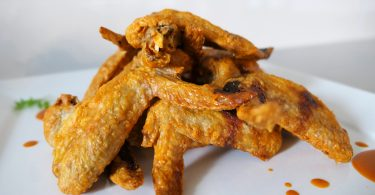Crispy chicken wings recipe